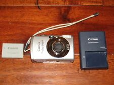 Canon PowerShot Digital ELPH SD850 IS 8.0MP Digital Camera w/ Charger