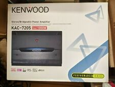 Kenwood KAC-7205 amplifier 1000W NEW
