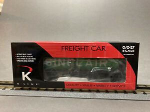 K-Line Freight car, Sinclair Single dome tank, K632-8018 NEW sealed