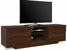 "Centurion Supports Avitus Walnut with 4-Walnut Drawers 32""-70"" TV Cabinet"