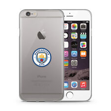 MANCHESTER CITY FC APPLE IPHONE 7 I7 TPU PHONE CASE COVER CLEAR NEW XMAS GIFT