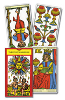 Tarot of Marseille CARD DECK + Booklet Lo Scarabeo