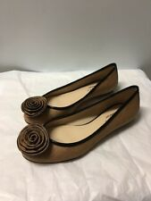Womens Brown Talbots Flats Size 7.5