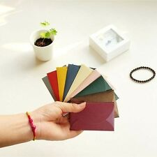 50pcs/set Vintage small colored Pearl blank mini paper envelopes envelope CH-403