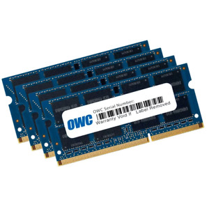 16GB OWC DDR3 SO-DIMM PC3-8500 1066MHz CL7 Quad Channel Kit (4x 4GB)