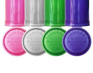 13 Dram Pop Top Squeeze Pot Stash Container Smell Proof Child Proof Many Colours