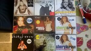 Cheryl Crow Single collection 9xCD 29 tracks 2cds are limited and sealed MINT