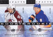 14-15 Artifacts Dennis Everberg /699 Rookie Redemption Avalanche 2014