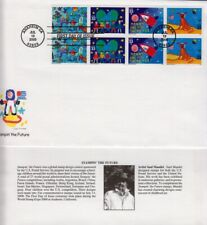 2000 Stampin' The Future Sc 3417a First Day Cover Fleetwood