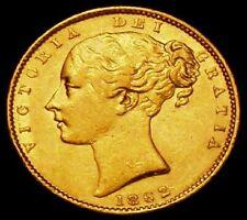 More details for 1862 gvf queen victoria sovereign r / e error very rare r3 lcgs 50