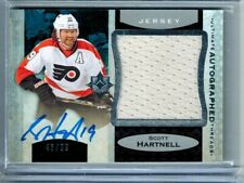 2013-14 ULTIMATE AUTOGRAPHED THREADS SCOTT HARNELL AUTO 46/99