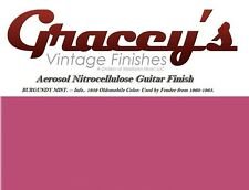-Burgundy Mist- Gracey's Vintage Finishes Nitrocellulose Guitar Lacquer Aerosol.