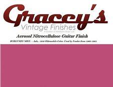 -Burgundy Mist- Gracey's Vintage Finishes Nitrocellulose Guitar Lacquer Aerosol.