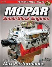 Mopar Small-Block Engines: How to Build Max Performance Book~273-318-340-360~NEW
