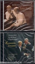 2 CD James Last & RICHARD CLAYDERMAN 'LOVE chansons + Romantic Dreams' Neuf/New/Neuf dans sa boîte