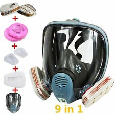 CA 9 in1 Suit Paint Spraying Gas Mask For 3M 6800 Full Face Facepiece Respirator