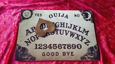 Wooden Ouija Board game & Planchette Instructions Spirit hunt Magick Ghost magic