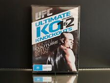 UFC Ultimate Knockouts 1 and 2 DVD PAL Region 4 Aust Post
