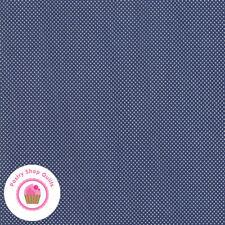 Moda AT HOME 55205 21 Navy Blue Pindots Polka dots BONNIE & CAMILLE Quilt Fabric