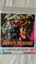 SEVEN DEATHS IN THE CATS EYE BLU-RAY ANTONIO MARGHERITI NEW