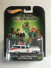 Hot Wheels 2015 Retro Entertainment Ghostbusters Cartoon Car Ecto-1