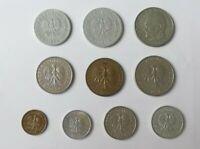 Lote Monedas Polonia 1970 - 1997