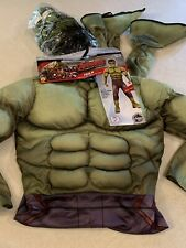 Avengers Incredible Hulk Halloween Costume Youth Large New NWT Super Hero