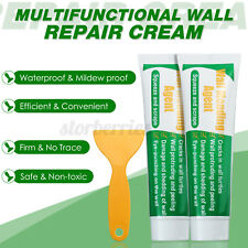 More details for 2x wall mending agent 100g safemend wall mending agent wall filler w/scraper uk