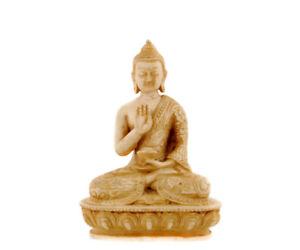 Statue Von Buddha Dhyani Amoghasiddhi Arzt IN Harz 13.5cm nep519-3167