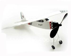 Ballylelly Elastico Power Biplano Aliante Aereo Thunderbird Elastico Power Plane Modello di Elicottero Assemblaggio Fai da Te