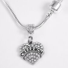 Cheer Mom Necklace Cheer Mom Gift Cheering chain Cheer Mom Present Cheer Mom