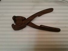 Vintage 3-Prong Clip Pliers upholstery Supplies Osborne brand