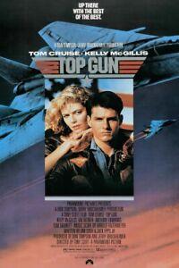 "Top Gun - Movie Poster (Regular Style) (Size: 24"" X 36"")"