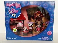 Littlest Pet Shop Prettiest in Pearls B14 1862 French Poodle 1863 Pink Mouse New