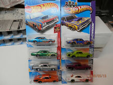 hot wheels  plymouth road runners set of 8