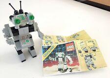 Très RARE : Lego Robot de l'espace n° 1498 COMPLET Spy-Bot de 1987 + Notice