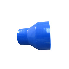 """4"""" to 2.5"""" Blue Silicon Hose Reducer Coupler 4.5"""" Length for Intercooler Pipe"""