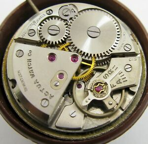 Eta 1080 17 jewels manual Actua Watch Movement for part or project