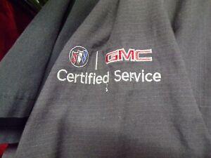 """""""BUICK GMC CERTIFIED SERVICE"""" Short sleeve shirt  DENALI GRAND NATIONAL GS 455"""