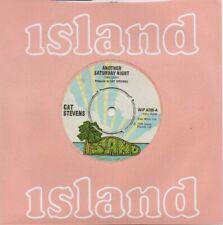 "Cat Stevens - Another Saturday Night  (7"" Single 1974) EX"