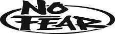 No Fear Sticker Decal Graphic Vinyl Stickers Black
