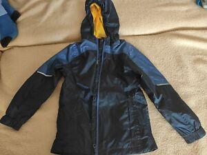 Dünne Regenjacke ADIDAS blau Gr. 128   gebraucht   eBay