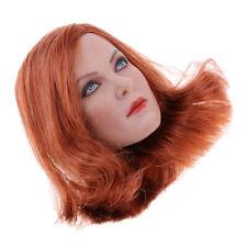 "1//6 UNA SCULTURA Testa Donna Capelli Corti per 12/"" gactoys GC004 PHICEN Hot Toys kumik B"