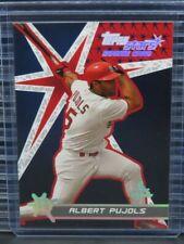 New listing 2001 Topps Stars Albert Pujols Rookie Card RC #198 Cardinals O496