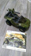 Halo Mega Bloks 10th Anniversary Edition Warthog 96973 - GUC