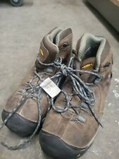Keen mens 8.5 brown leather lace up hiking shoes L15A