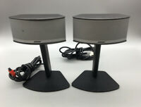 Bose Companion 5 Speakers Set For Companion 5 with Stands Working G24