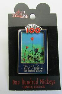 Disney Pin 14192 DLR One Hundred Mickeys Pin Series MM 080 In the Garden Pin