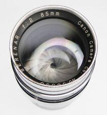 Canon RF 85mm f2 Serenar Leica SM  #56350
