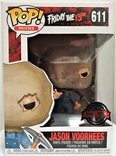 Funko Pop Jason Voorhees Bag Mask # 611 Friday The 13th Special Edition New